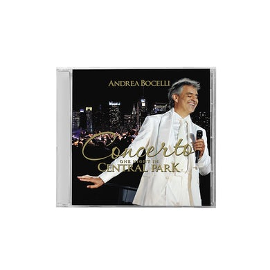 Andrea Bocelli Concerto One Night In Central Park CD