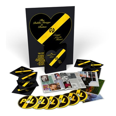 The Public Image Ltd Is Rotten (Songs From The Heart) CD/DVD Boxset