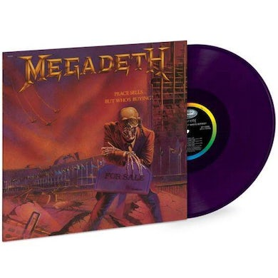 Megadeth Peace Sells...But Who's Buying Limited Edition LP (Vinyl)