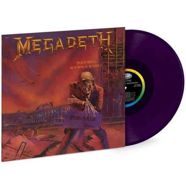 Megadeth Peace Sells...But Who's Buying (Limited Edition) LP (Vinyl)