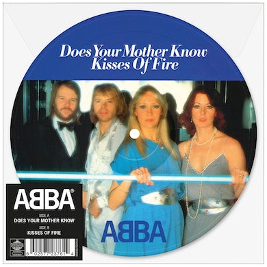"""Abba Does Your Mother Know 7"""" Picture Disc (Vinyl)"""