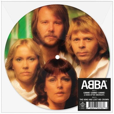"""Abba Gimme! Gimme! Gimme! (A Man After Midnight) 7"""" Picture Disc (Vinyl)"""