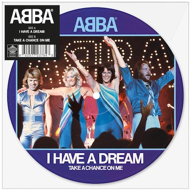 """Abba I Have A Dream 7"""" Picture Disc (Vinyl)"""