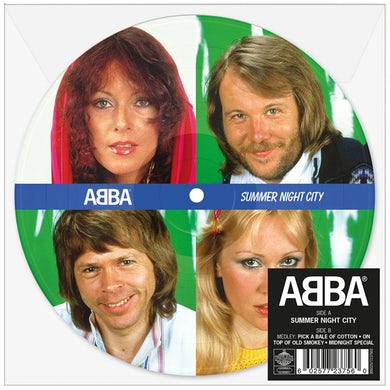 "Abba Summer Night City 7"" Picture Disc (Vinyl)"
