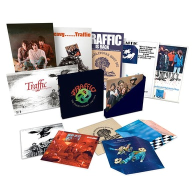 Traffic The Studio Albums 1967-74 6LP Box Set (Vinyl)