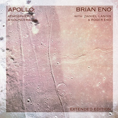 Brian Eno Apollo: Atmospheres & Soundtracks Limited Edition 2CD Hardcover Book Edition – Numbered