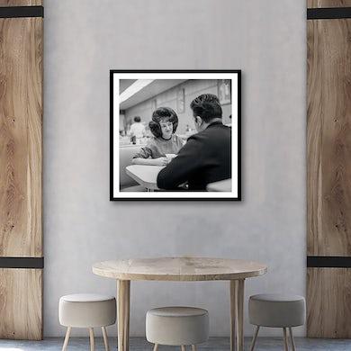 Wanda Jackson - At Dinner 1950's Framed Fine Art