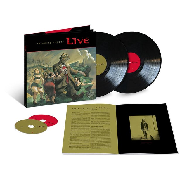 Live Throwing Copper 25th Anniversary Super Deluxe Edition Box Set