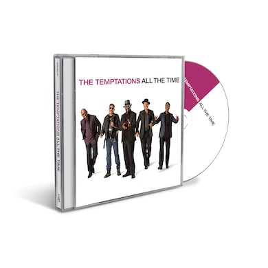 The Temptations All The Time CD