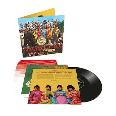 The Beatles Sgt. Pepper's Lonely Hearts Club Band Anniversary Edition LP (Vinyl)