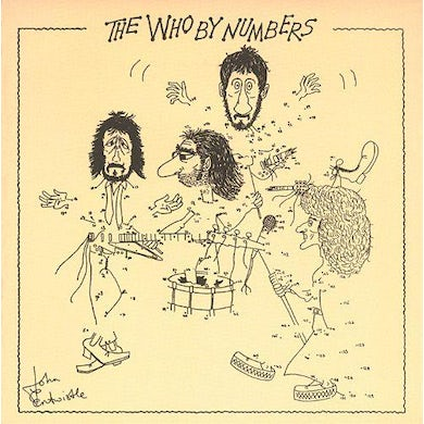 The Who By Numbers LP (Vinyl)