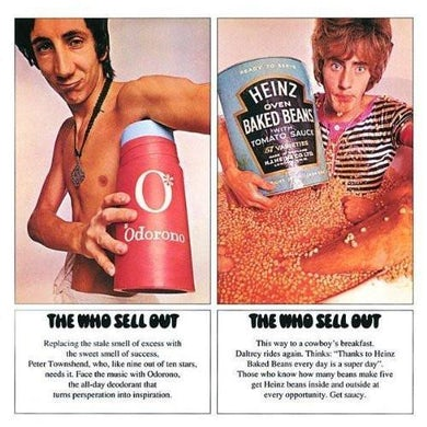 The Who Sell Out Remastered LP (Vinyl)