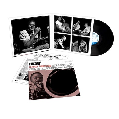 Stanley Turrentine Hustlin' LP (Vinyl)