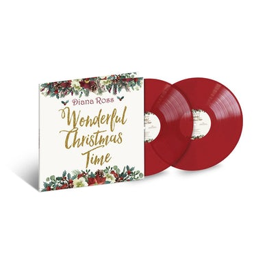 Diana Ross Wonderful Christmas Time Limited Edition 2LP (Vinyl)