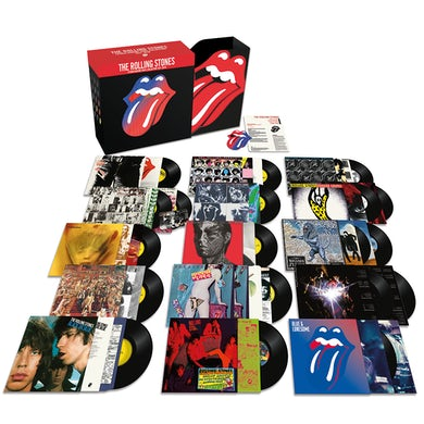 The Rolling Stones Studio Albums Vinyl Collection 1971 - 2016