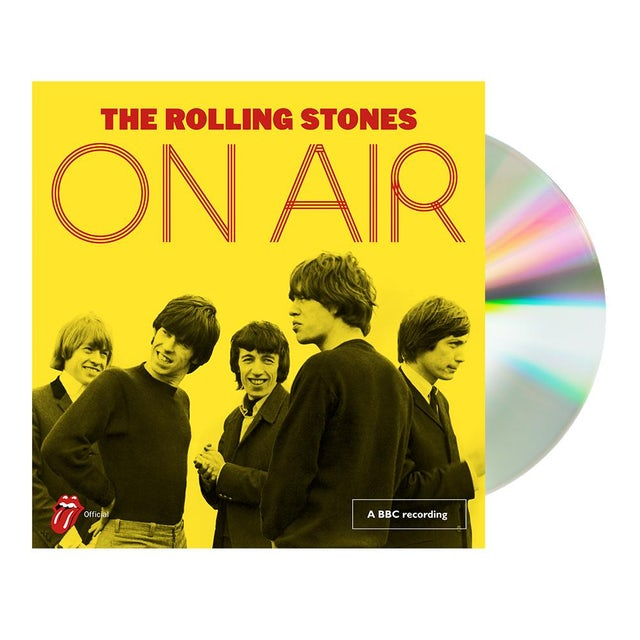 The Rolling Stones Limited Edition Deluxe On Air 2CD