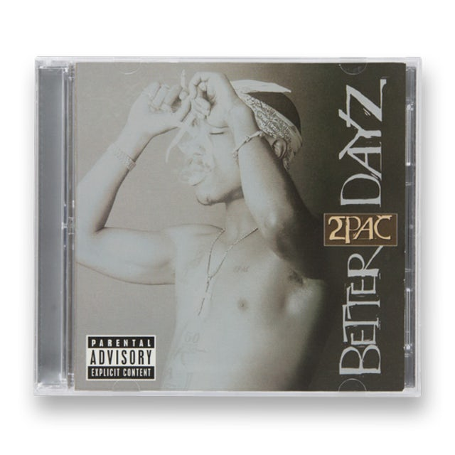 Tupac Better Dayz CD
