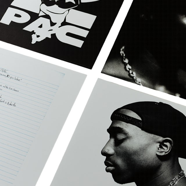 Tupac Strictly 4 My N.I.G.G.A.Z. Deluxe 2LP (Vinyl)