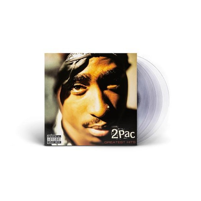 Tupac Greatest Hits - Clear 4LP (Vinyl)