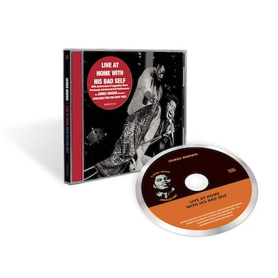 James Brown Live At Home With His Bad Self CD