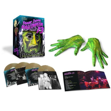 Frank Zappa Halloween 73 4CD