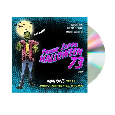 Frank Zappa Halloween 73 Highlights CD