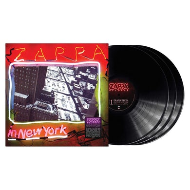 Frank Zappa Zappa In New York 40th Anniversary 3LP (Vinyl)