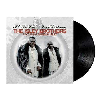 The Isley Brothers I'll Be Home For Christmas LP (Vinyl)