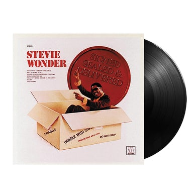Stevie Wonder  Signed, Sealed, And Delivered LP (Vinyl)