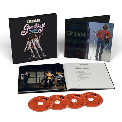 Cream Goodbye Tour - Live 1968 4CD