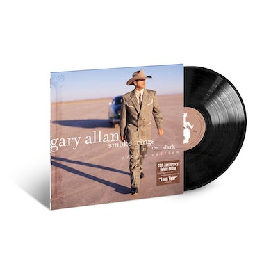 Gary Allan Smoke Rings In The Dark LP (Vinyl)