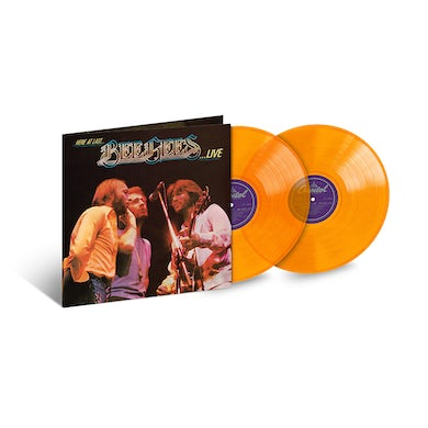 Here At Last... Bee Gees Live Limited Edition 2LP (Vinyl)