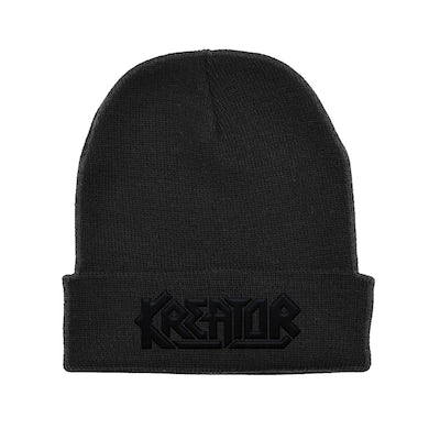 Kreator Black On Black Beanie