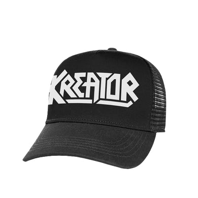 Kreator White Logo Trucker Hat