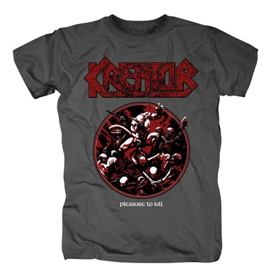 Kreator Pleasure to Kill Circle T-Shirt