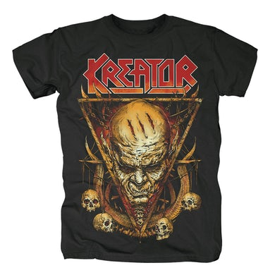 Kreator Face Horns T-Shirt
