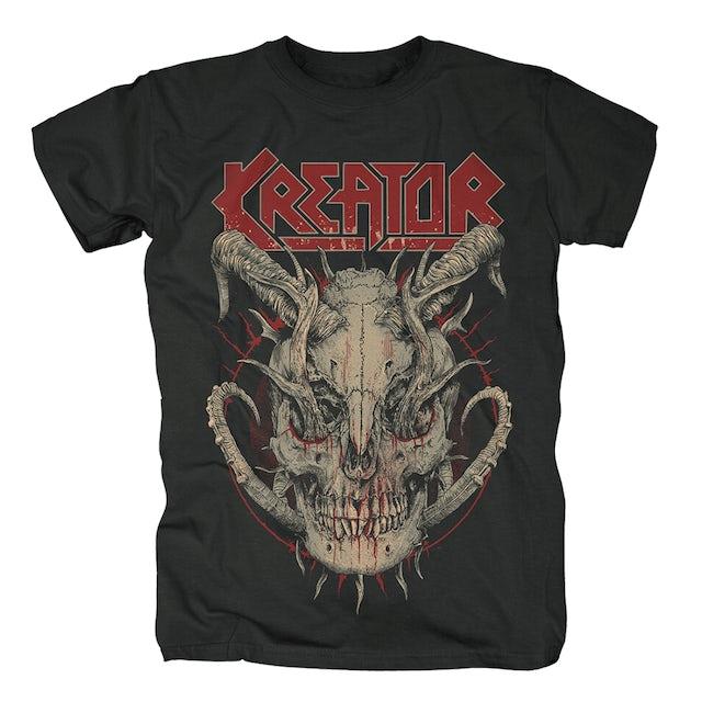 Kreator Skull Horns T-Shirt