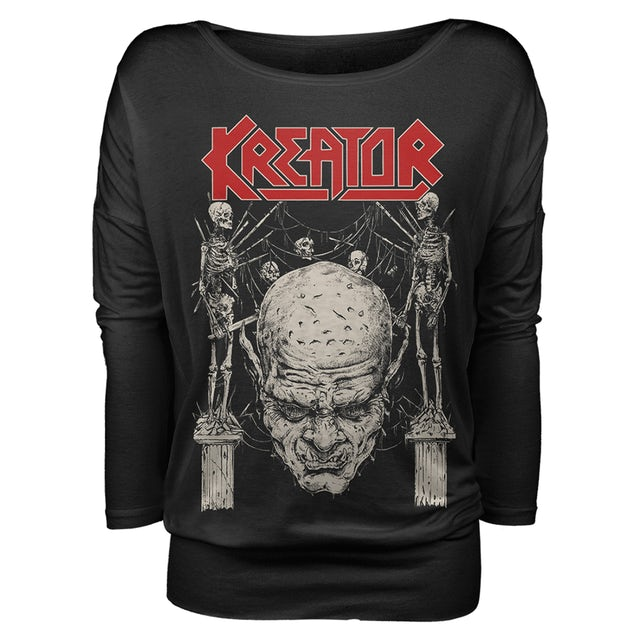 Kreator Skulls N Skeletons Girls L/S Shirt