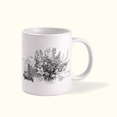 Tony Bennett Floral Sketch Mug