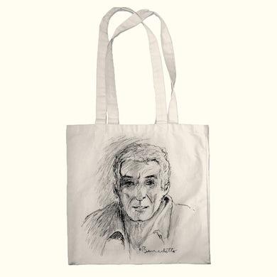 Tony Bennett Tony Self-Portrait Sketch Tote Bag