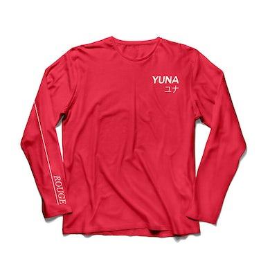 YUNA Red Long Sleeve