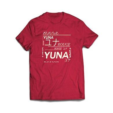 YUNA Red T-Shirt