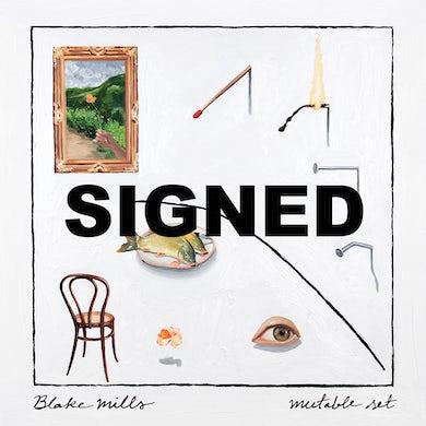 "Blake Mills ""Mutable Set"" Signed CD Booklet"