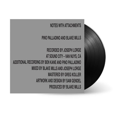 Blake Mills Notes With Attachments LP (Vinyl)