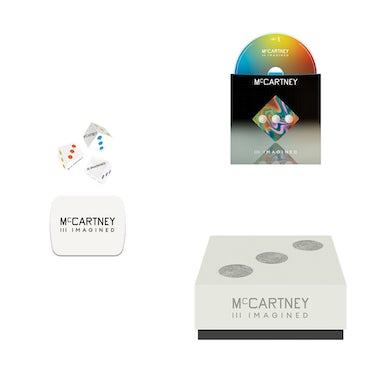 Paul McCartney McCartney III Imagined - Limited Edition Dice & CD Box Set