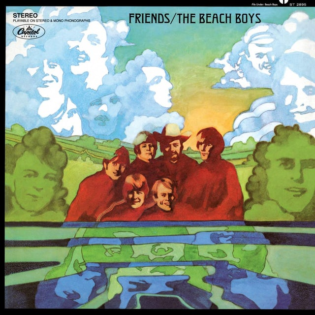 The Beach Boys Friends - Vinyl LP