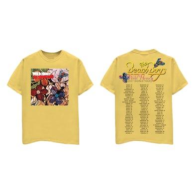 The Beach Boys Wild Honey Yellow Tour T-Shirt