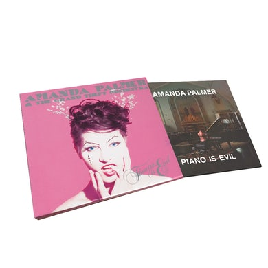 Amanda Palmer Piano Is Evil / Theatre Is Evil - Double CD