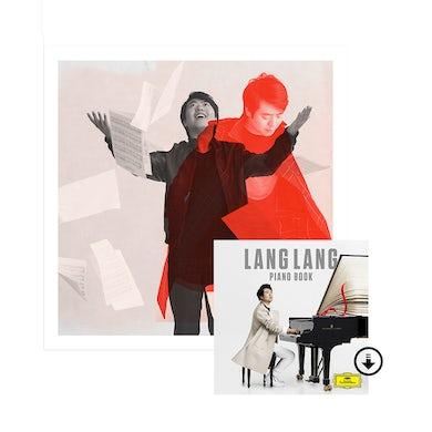 Lang Lang Piano Book Litho