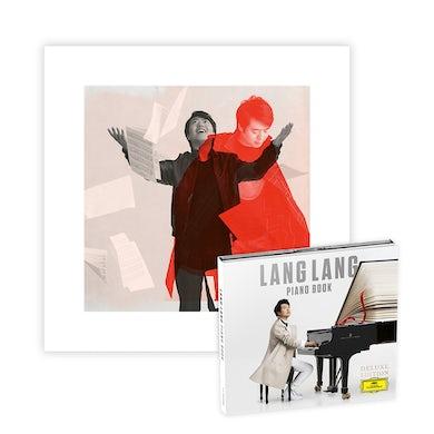 Lang Lang Piano Book Deluxe 2CD + Litho + Digital Album